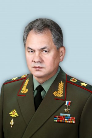Shojgu S K Portret Ministra Oborony
